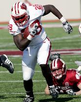 Montee Ball The Wisconsin RB exploded onto the Heisman scene in the last month and leads the nation in scoring.