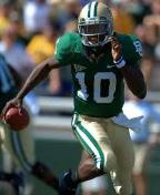 Robert Griffin III Baylor Freakish stats and an upset wina over OU and Texas helped Robert Griffin III to win the 2011 Heisman Trophy