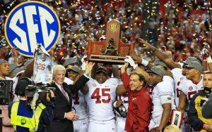 Alabama SEC Championships