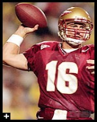 Chris Weinke traded in his baseball cleats to guide gain Heisman Trophy fame at FSU.