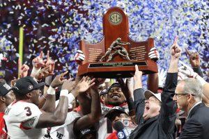 Georgia SEC Champs History