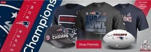 New England Patriots Championship Gear