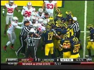 Ohio State vs. Michigan rivalry