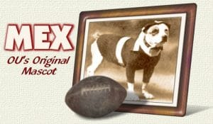 "Former OU Mascot ""Mex"""
