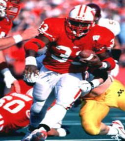 The Great Dayne When Ron Dayne finished his Badgers career, he exited as college football's top career rusher of all-time.