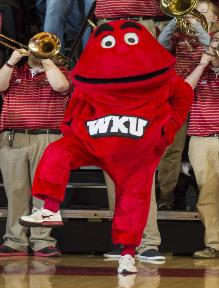 No! This is not Elmo after too many trips to Krispy Kreme!