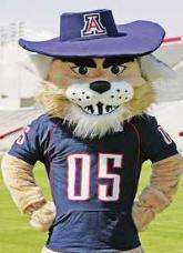 Wilbur is a fan-favorite among the Wildcat fan base