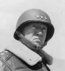 After Patton survived two broken arms while playing for Army, Hitler was no match in World War II