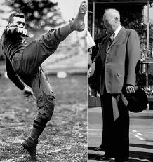 Eisenhower got a kick out of playing football before he kicked off his political career.