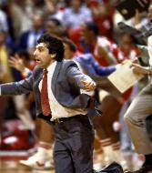 Don't Ever Give Up NC State Head Coach Jim Volvano's catch phrase rang true with a last-second upset win over Houston in 1983.