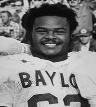 Football Legends Mike Singletary is school's top player who not only made an impact for the Bears program, but the Bears franchise in the NFL. Singletary was a two-time SWC Defensive Player of the Year and had a Pro Football Hall of Fame Career with the Chicago Bears.
