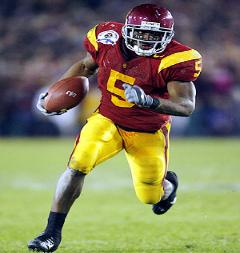Reggie Bush scorched defenses for 8.7 yards per carry his Heisman Season
