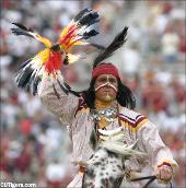 Chief Osceola carries on the proud Seminole tradition and takes school spirit to new