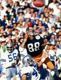 Lynn Swann USC Although known for producing NFL RB's and QB's, WR Lynn Swann was a dynamic force for the Steelers Super Bowl Dynasty of the 1970s. Swann was in the class of 2001.
