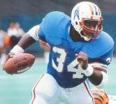 "Earl Campbell Texas Known as the ""Tyler Rose,"" was a one person NFL wrecking crew with his punishing running style for the Houston Oilers. This former Longhorn was inducted into the Hall of Fame's Class of 1991."