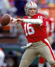 Former Notre Dame QB Joe Montana's two NFL MVP awards while with San Francisco has helped the Fighting Irish to hold the status of the college with the most MVP winners