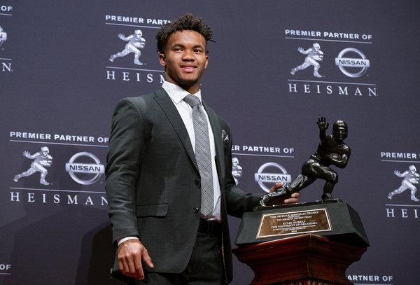 Kyler Murray 2018 Heisman Trophy Winner