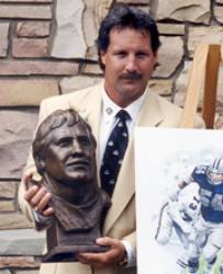 1974 Outland Trophy and Lombardi Award Winner and NFL legend Randy White Following his incredible career at Maryland, White was the overall No. 2 pick of the 1975 Draft. After joining the Cowboys, White became a 9x First-Team All-Pro selection and a Co-Super Bowl MVP. White was named to the NFL 1980s All-Decade Team as was inducted into the Pro Football Hall of Fame in 1994.