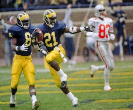 Desmond Joins the Club Michigan's No. 21 is the latest jersey number to be retired by the University