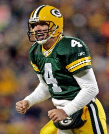 NFL MVP's Before he donned the Green & Gold, Brett Favre donned Southern Miss Black and Gold