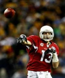 """A win was not in the """"Cards"""" for Warner QB Kurt Warner helped to deliver the St. Louis Rams to a Super Bowl XXXIV victory, but fell just short of another NFL title in Super Bowl XLIII while guiding Arizona towards an upset bid against the Steelers."""