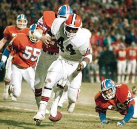 Fumbled Away Cleveland Browns fans are still traumatized by the untimely Ernest Byner lost fumble in the 1987 AFC Championship Game. Cleveland lost the game 23-20 in overtime.