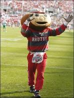 Not only does Ohio State's Brutus Buckeye generate school spirit, but he serves as the most recognizable figure for Ohio State.