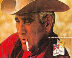 """Smokin' Hot"" Back when it was still cool to smoke, Charley Conerly was ""Smoking"" as the Marlboro Man!"