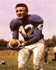Giant Steps Charley Conerly had a championship impact on New York and later had his No. 42 jersey retired by the franchise