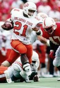 Sanders set 34 NCAA Records while at Oklahoma State