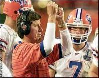 After leading Florida to 6 SEC Football Championships and the 1996 National Championship, Spurrier is a coaching legend at Florida