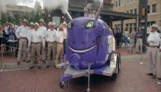 When the Frog Horn is blowing you know things are all good at TCU!