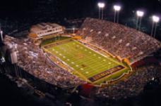 BB&T Field at Groves Stadium Home of Demon Deacons Football This facility opened in 1968 and has a capacity of 31,500.