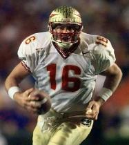 While leading the Seminoles to an 11-2 season in 2000, Weinke led the nation in passing yards and efficiency.