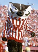 Bucky Badger is a fan favorite