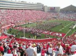 Wisconsin's Camp Randall Stadium opened in 1917 and is the Big 10's oldest stadium. The venue's capacity is 80,321