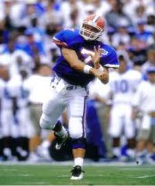 In four years with the Gators, Wuerffel threw for an SEC career best 10,875 yards and 114 TD's. His career 163.56 passing rating was the best in major college football history.